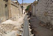 جدولبندی خیابان ملت کوچه وحید